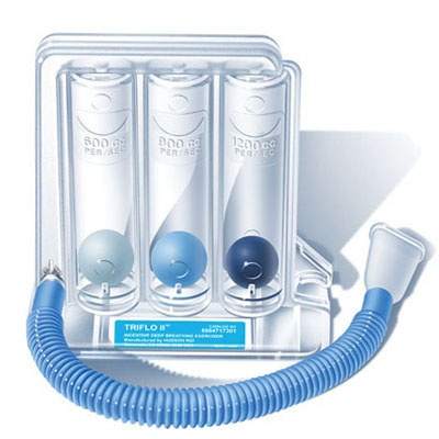 Hudson Triflo Ii Incentive Deep Breathing Exerciser 3 Ball