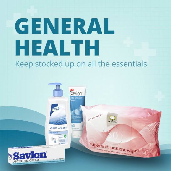 General Health Square Banner