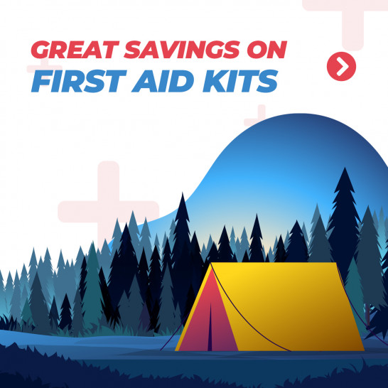 Great Savings On First Aid Kits Square