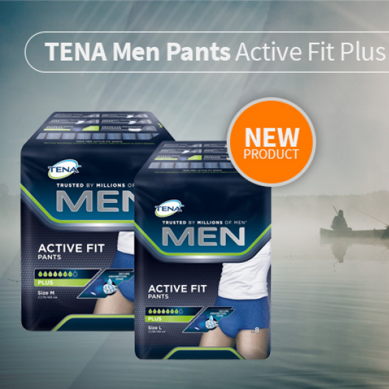 NEW Tena Active PANTS Mobile Square