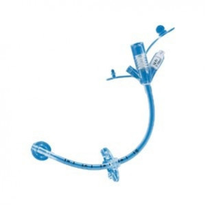 0100-16LV Kimberly-Clark Tube Gastrotomy Feeding 30cm  SECUR-LOK External Retention Ring 16FR 1