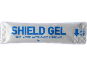 10310208007 Shield Gel Lubricating Sachets 6g