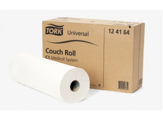 124164 Couch Roll Perforated Tork 58cm x 185M 1ply SINGLE ROLL