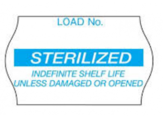 1269B Comply Label Sterilized Blue.