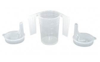 127-L Plaspro Feeder cup with 2 Handles
