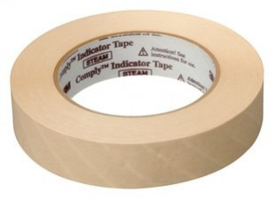 1322 - 3M Autoclave Chemical Indicator Tape 18mm x 55M