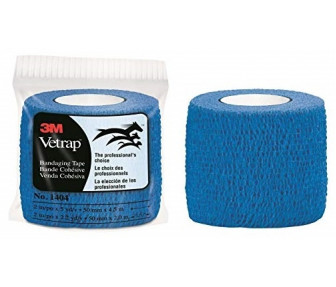 1404 3M Vetrap Bandage Tape Blue 50mm x 4.5cm
