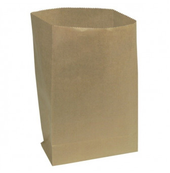 1496618 Light duty block bottom brown paper bag