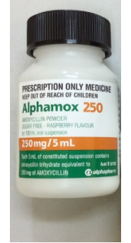 2503565 Alphamox(Amoxicillin) Suspension 250mg 100ml.PNG