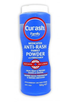 279390 Curash Family Talc Medicated 100G