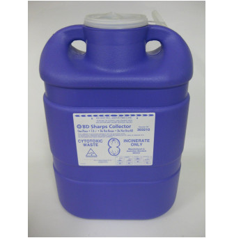 303210 Sharps Container Chemotherapy