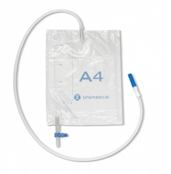 381551S Unomedical Drainage Bag A4 2000ml Sterile 120cm tubing.JPG
