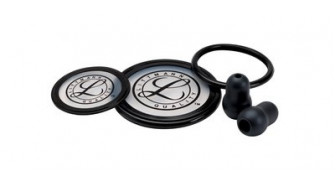 40003 3M Stethoscope Littmann Spare Parts Kit Cardiology III Black