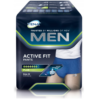 772533 TENA Men Pants Navy Med 9pk