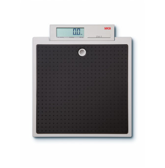 876 Seca Electroonic Floor Scale Mobile Use 250kg/100g