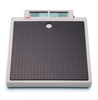 ESE874 Seca Flat scale for mobile use with push buttons and double display 200kg
