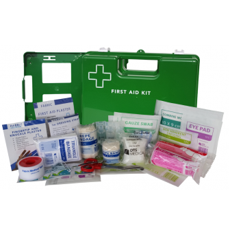 First Aid Kit - Work Place 1-15 Person Wall Mounted FAK1-15GWM