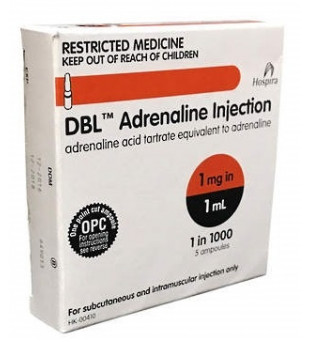 Adrenaline1-1000Injection1mlDBL