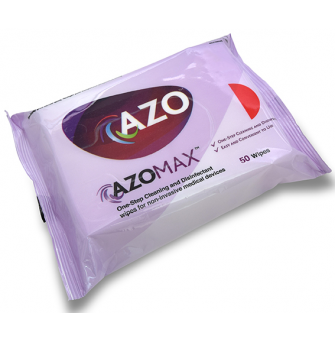 AM050W AzoMax Wipes with Detergent 33cm x 22cm