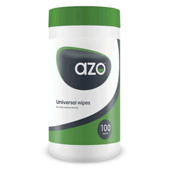AzoMax Cannister Cleaning and Disinfectant Wipes 220mm x220mm