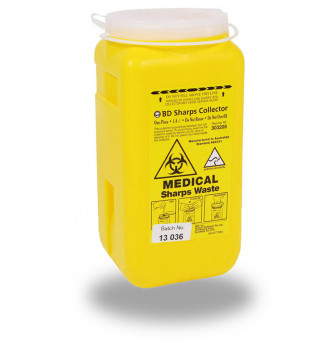 BD Sharps Container One-Piece 1.4L