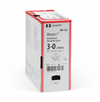 Biosyn Glycomer 631 Monofilament Synthetic Absorbable Suture