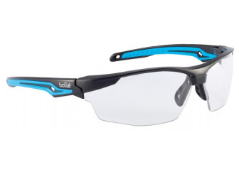 Bolle Protective Eyewear TRYON Clear Lens Blue Arms