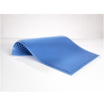 CDINPIN001 Clinipak Blue Silicone Pin Mat with Drain Holes
