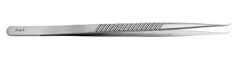CM00341 S&T Forcep by Banis Long Angulated flat handle.PNG