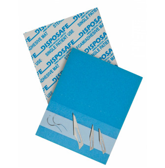 CMDS599 Disposafe Needle Mat 145x120mm