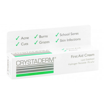 Crystaderm Antibacterial Cream 10g
