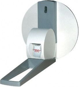 ese206 - Seca Mechanical Height Measure Tape - Wall Mounted