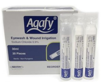 EWS002 Aqafy Sodium Chloride 30ml box