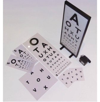 Eye Chart 6 Meter Artemis Illuminated LED Eye Chart
