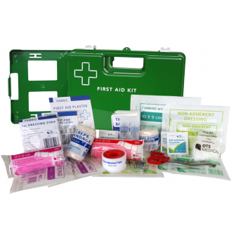 FAK1-5GWM First Aid Kit - Work Place 1-5 Person Wall Mounted