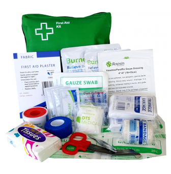 First Aid Kit - Small Personal Burns - Soft Pack FAKBK001SP