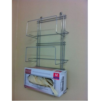 GEN193 Glove Dispenser Wire Triple