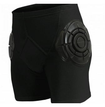 HPMMENB Hip Protectors with Softshield - Men Medium BLACK