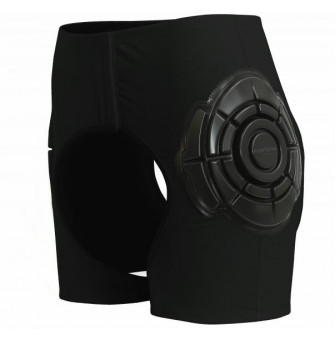 HPXSOB Hip Protectors Open with Softshield - Unisex XS (8) BLACK