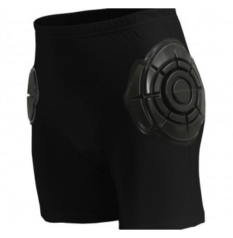 HPXXXSFFB Hip Protectors Full Fit with Softsheild - Unisex XXXS (4) BLACK