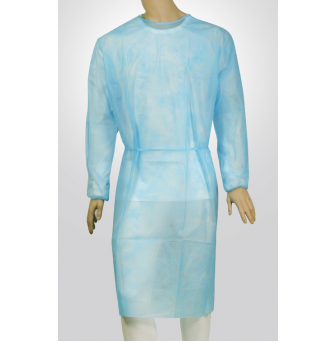 Isolation Gown blue-gown-30-gsm