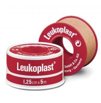 Leukoplast Standard Red Spool Tape 1.25cm x 5m 2