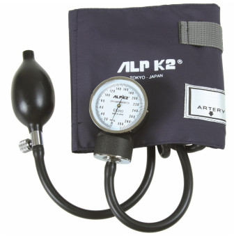 LRSSAVC Hand Held Aneroid Sphyg Navy Boxed - Velcro Cuff