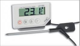 LT-101 Thermometer Min-Max With long probe -40C to +20