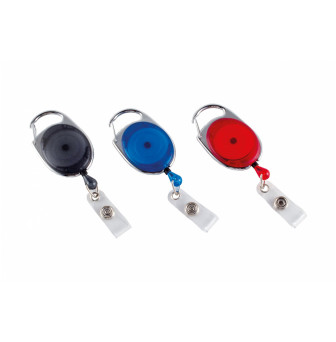 LTIR Retractable ID Tag with Holder with Clip