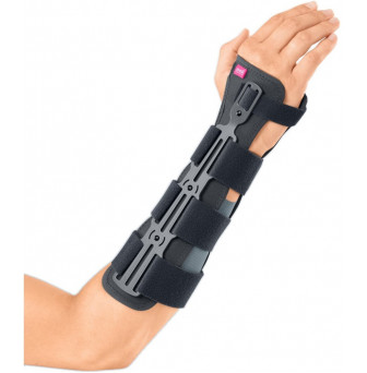 Manumed RFX Wrist and forearm Support for fractures Grey