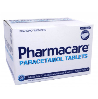 Paracetamol 500mg Tablets DRSREG.NURSE ONLY1000