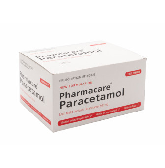 Paracetamol 500mg Tablets *DRS/REG.NURSE ONLY*1000*