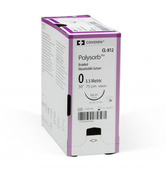 Polysorb Lactomer 9-1 Braided Synthetic Absorbable Sutures