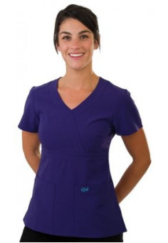 SCR454 Excel Accuflex 4-Way Stretch Scrubs Top Style 454